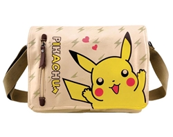 Picture of Pokemon Pikachu Canvas Messenger Tote