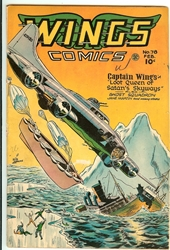 Picture of Wings Comics #78