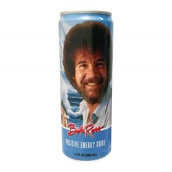 Picture of Bob Ross Positive Energy Drink