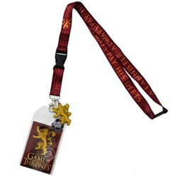 Picture of Game of Thrones House Lannister Lanyard