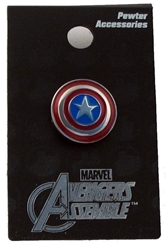 Picture of Captain America Shield Color Pewter Pin