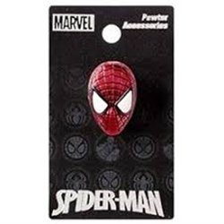Picture of Spider-Man Head Colored Pewter Lapel Pin