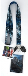 Picture of Black Panther Lanyard with Dangle