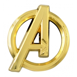 Picture of Avengers Symbol Gold Lapel Pin