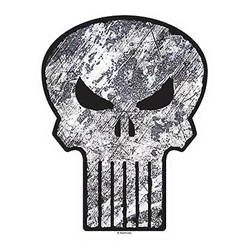 Picture of Punisher Logo Car Window Decal