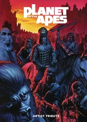 Picture of Planet of the Apes Artist Tribute HC