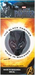 Picture of Marvel Black Panther Made in Wakanda Sticker