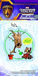 Picture of Guardians of the Galaxy Groot and Rocket Skottie Young Decal