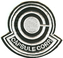 Picture of Dragon Ball Capsule Corp Symbol Patch