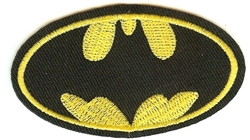Picture of Batman Symbol Small Patch