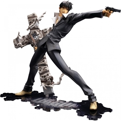 Picture of Trigun Nicholas D. Wolfwood Renewal Package Version 1/8 Scale Artfx Statue Figure