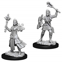 Picture of Dungeons and Dragons Nolzur's Marvelous Unpainted Human Female Cleric Miniatures