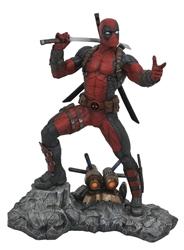 Picture of Deadpoo Marvel Premier Collection Statue