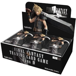 Picture of Final Fantasy TCG Opus IV Booster