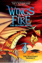 Picture of Wings of Fire Vol 01 SC Dragonet Prophecy