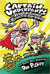 Picture of Captain Underpants Vol 10 HC and the Revolting Revenge of the Radioactive Robo-Boxers