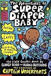 Picture of Adventures of Super Diaper Baby HC
