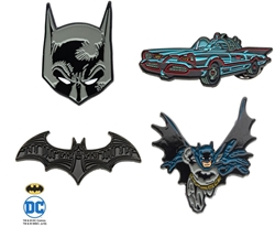 Picture of Batman 4 Pin Pack