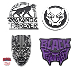 Picture of Black Panther 4 Pin Pack