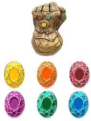 Picture of Avenger Infinity Gauntlet Enamel Pin Set