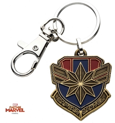 Picture of Captain Marvel Keychain