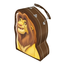 Picture of Disney Lion King Simba Shaped Tin Lunchbox