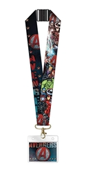 Picture of Avengers Deluxe Lanyard with Card Holder