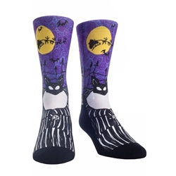 Picture of Nightmare Before Christmas Jack Crew Socks