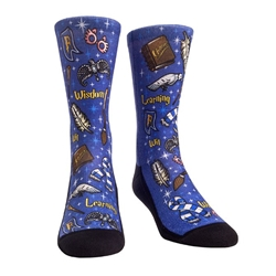 Picture of Harry Potter Ravenclaw Wizard House Crew Socks