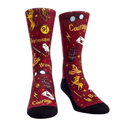 Picture of Harry Potter Gryffindor Wizard House Crew Socks