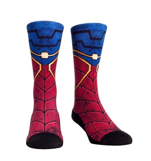 spidermansuitcrewsocks