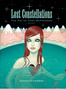 Picture of Lost Constellations The Art of Tara McPherson Vol 02 HC (Signed Copy)