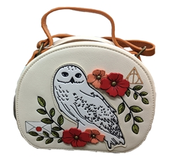 Picture of Harry Potter Hedwig Floral Crossbody Purse