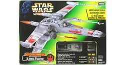Picture of Star Wars Power of the Force Electronic Power F/X Luke Skywalker's Red Five X-Wing Fighter