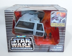 Picture of Star Wars Darth Vader's Tie Fighter Action Fleet Micro Machines Figure