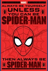 "Picture of Spider-Man Always Be Yourself 24""x36"" Cover"