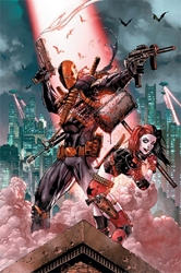 "Picture of Harley Quinn and Deathstroke 24""x36"" Poster"