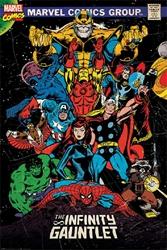 "Picture of Marvel Infinity Gauntlet Retro 24""x36"" Poster"