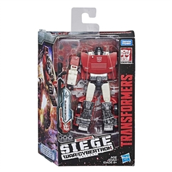 Picture of Transformers Generations Siege War for Cybertron Deluxe Class Sideswipe Figure