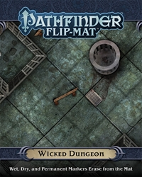 Picture of Pathfinder RPG Wicked Dungeon Flip-Mat