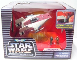 Picture of Star Wars A-Wing Fighter Action Fleet Micro Machines Figure