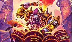 Picture of KeyForge Drummernaut Playmat
