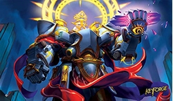 Picture of KeyForge Grim Resolve Playmat