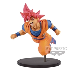 Picture of Dragon Ball Super Saiyan God Son Goku Figure