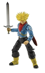 Picture of Dragon Ball Super Future Trunks Super Saiyan Dragon Stars Action Figure