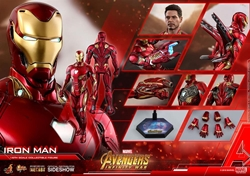 Picture of Iron Man Mark 50 Avengers Infinity War Diecast Sixth Scale Figure