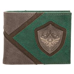 Picture of Zelda Silver Metal Badge Bi-Fold Wallet