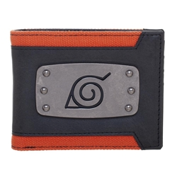 Picture of Naruto Shippuden Leaf Badge Bi-Fold Wallet