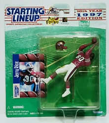 Picture of Starting Lineup Action Figure Jerry Rice 1997 Edition
