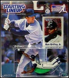 Picture of Starting Lineup Action Figure Ken Griffy Jr Baseball 2000